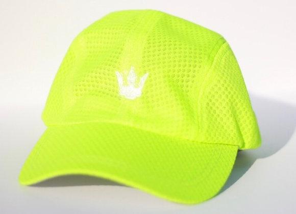 Neon Green and white logo - Mesh Chill Cap