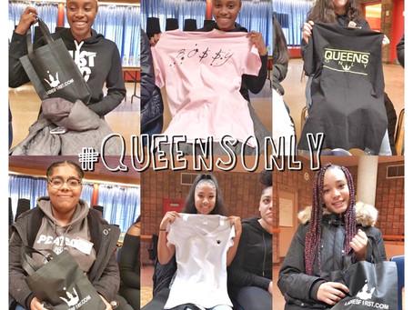 Claim your throne!  Malvern Female Leadership workshop.