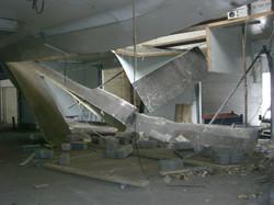 Effondrement de plafonds
