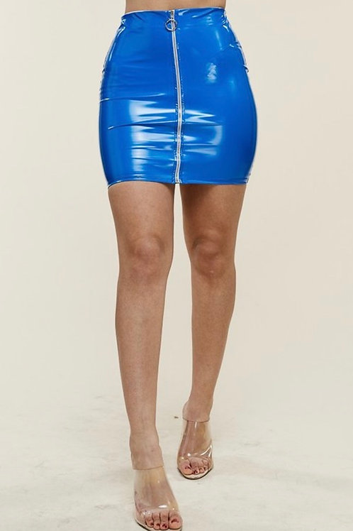 Lola latex skirt