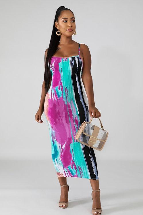 Veronica midi dress