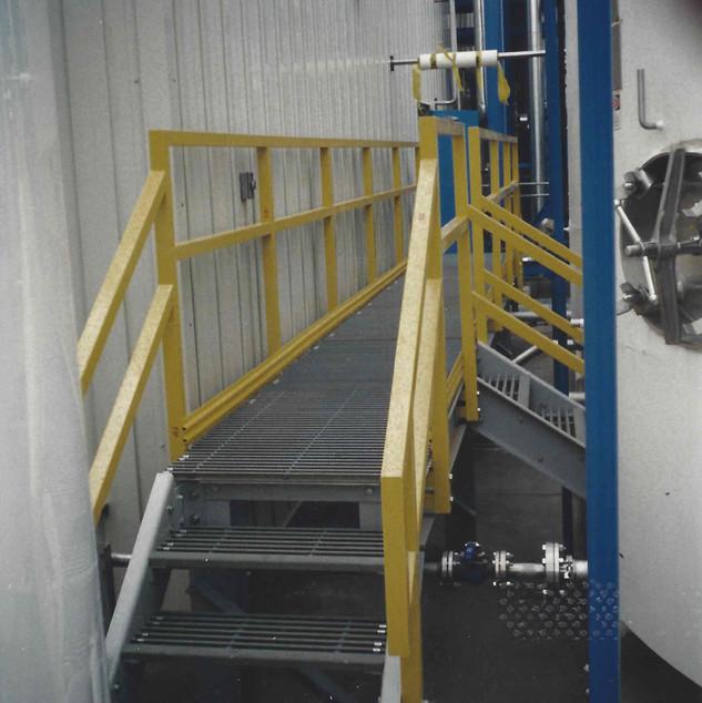 Fiberglass Walkway and Stairs