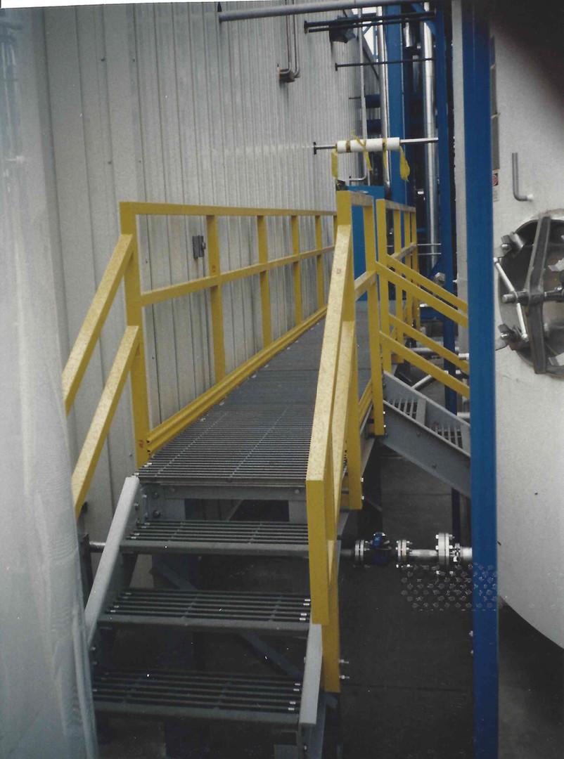 Fiberglass Stair and Walkway System