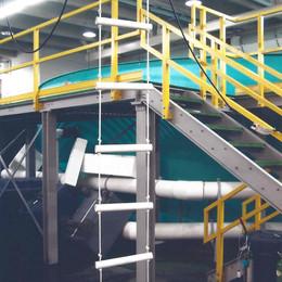 Fiberglass Stair System