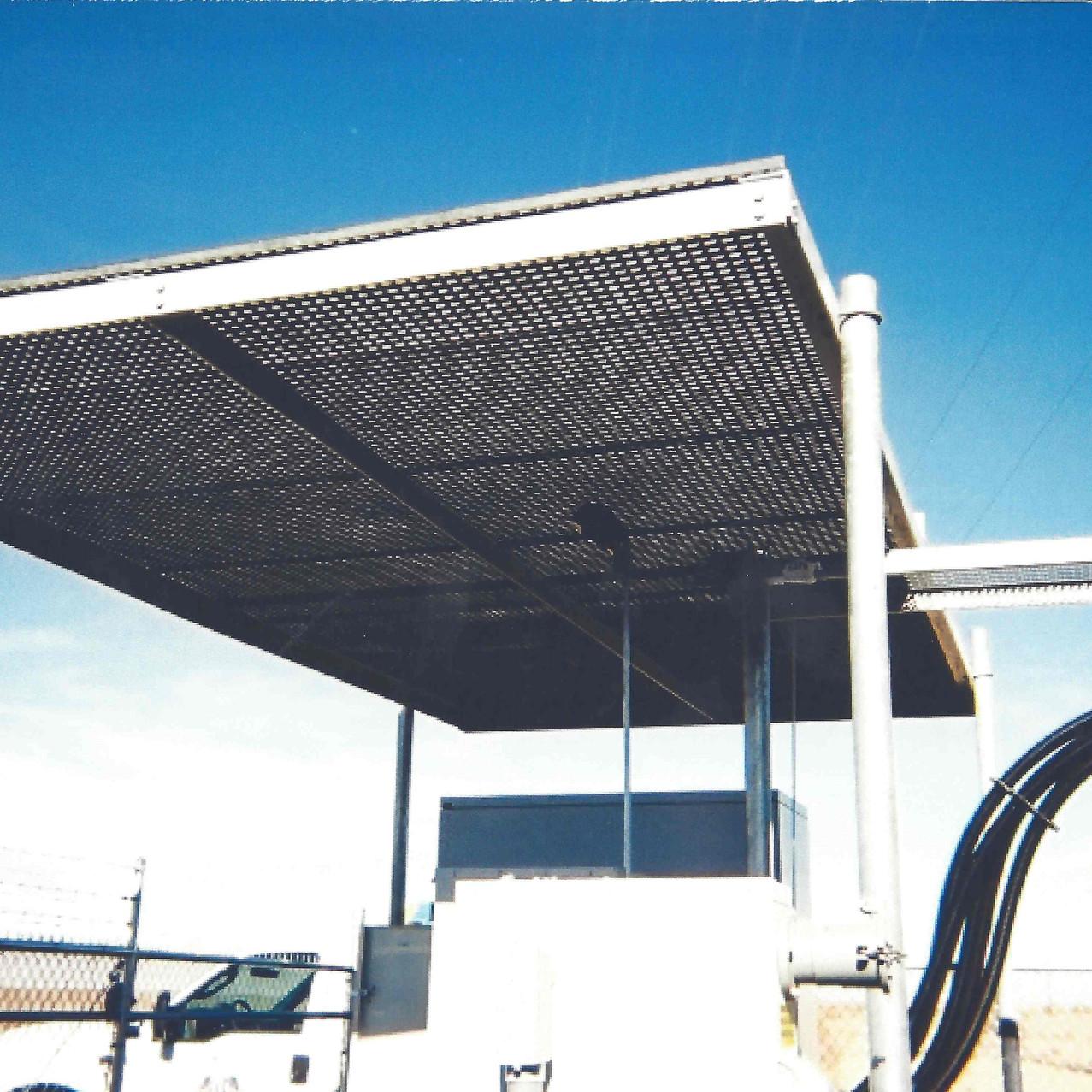 Steel Grating Roof