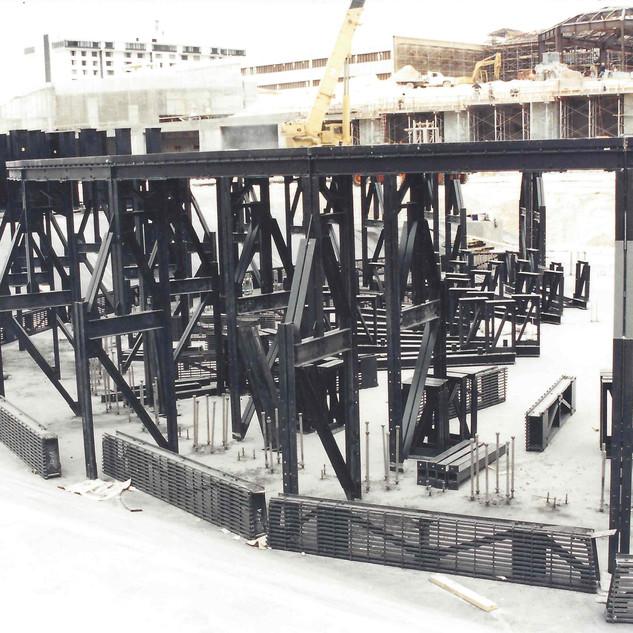 Custom Fiberglass Structure
