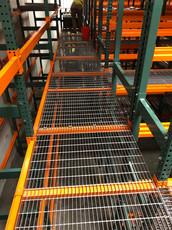 Custom Painted Steel Bar Walkways