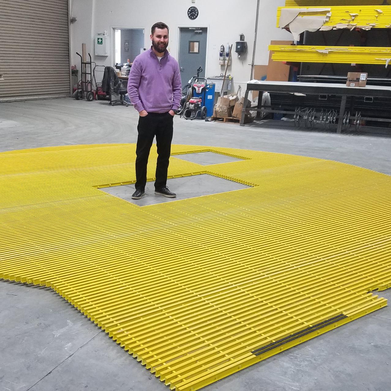 Custom Fiberglass Flooring