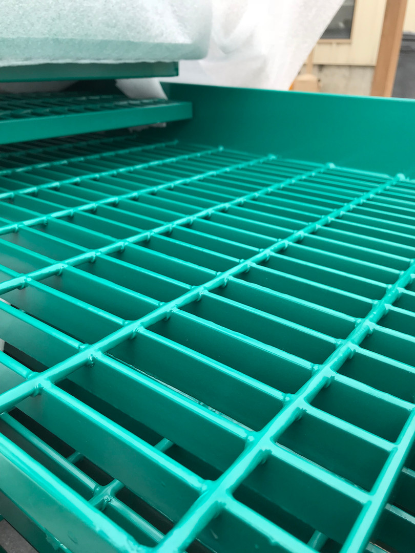 Custom Coated Steel Bar Grating