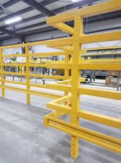 5-Rail Fiberglass Handrail