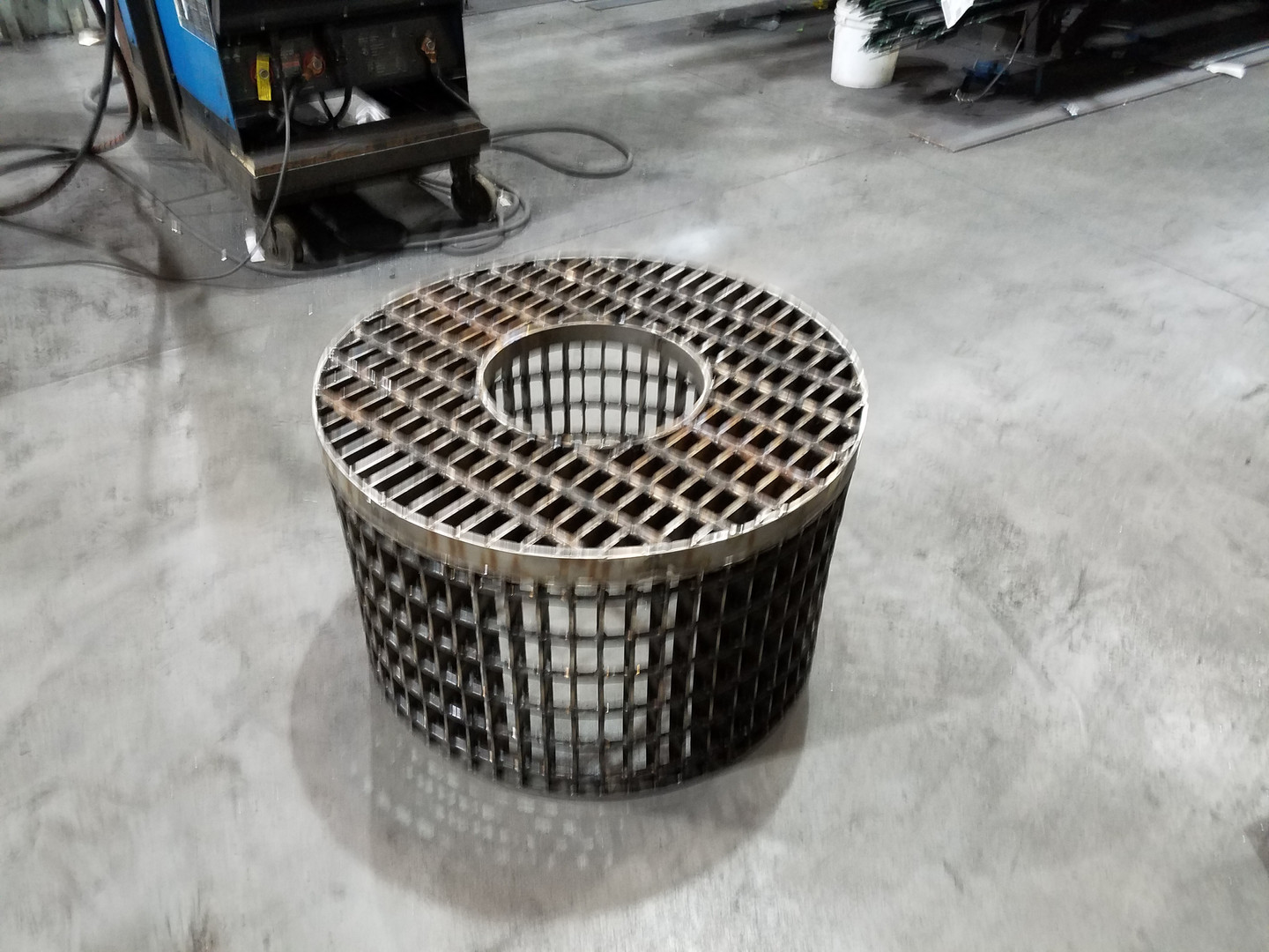 Custom Radial Grating