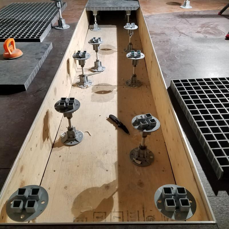 Fiberglass Pedestal Systems & Flooring