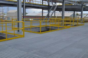 Steel Bar Grating Platforms