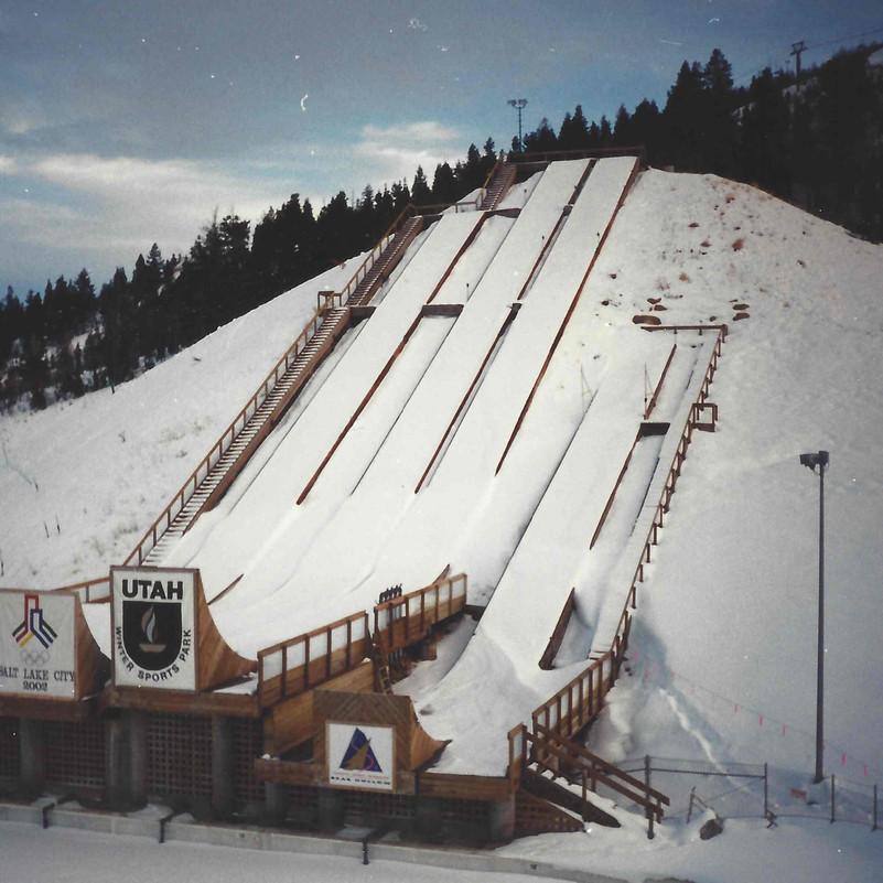 Utah Olympic Ski Jumps