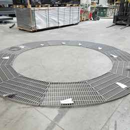 Radial Stainless Steel Grating
