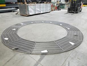 Radial Stainless Steel Platform