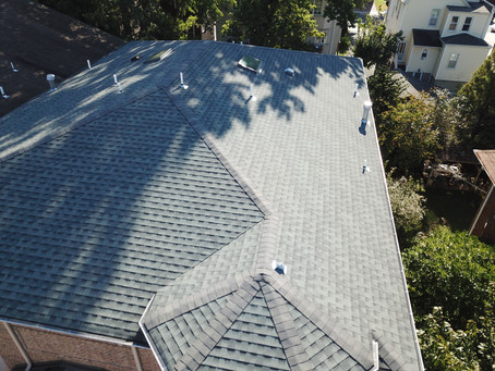 Drone Roof Inspection as part of Home Inspection