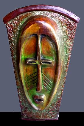 Congo Mask Vase