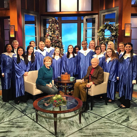 "University Choir on ""The 700 Club"""