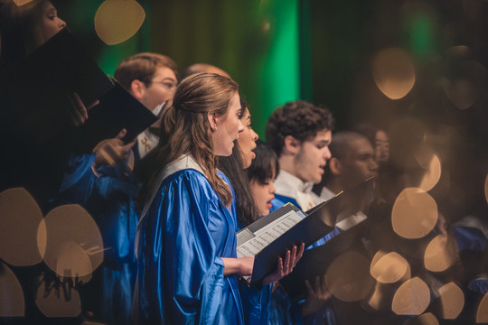 University Choir Christmas '18