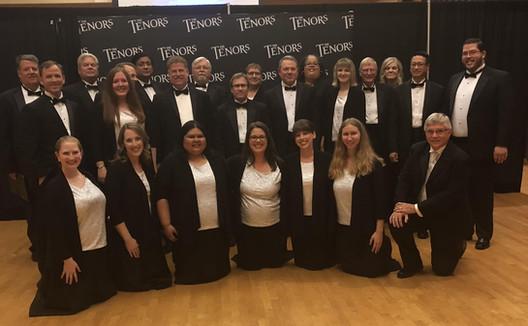 """Virginia Beach Chorale Ensemble on """"The Tenors"""""""