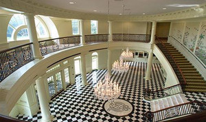 Regent University Performing Arts Center Lobby