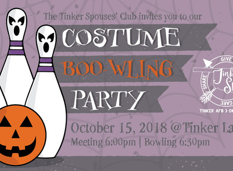 TSC Costume BOO-wling Party