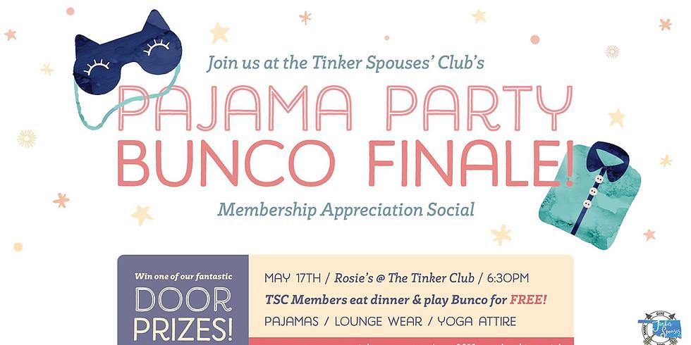 Membership Appreciation / Bunco Finale