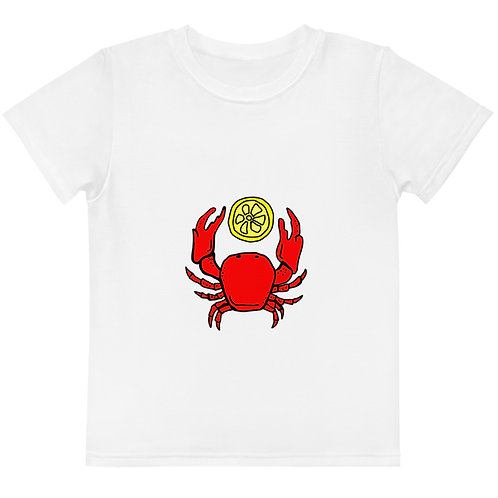LD RJ Collection Crab Kids crew neck t-shirt