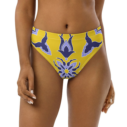 LD Cefalu' Recycled high-waisted bikini bottom