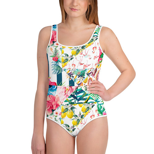 LD All-Over Print Youth Swimsuit