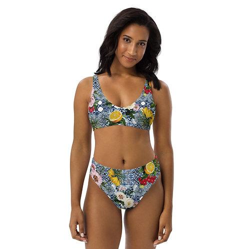 LD Sicilia Recycled high-waisted bikini
