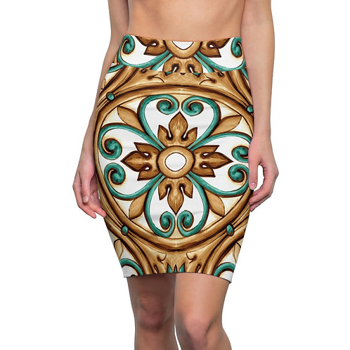 LD Taormina Women's Pencil Skirt