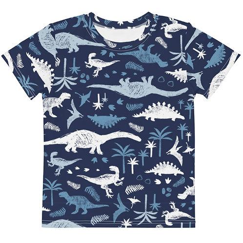 LD RJ DINO Kids crew neck t-shirt