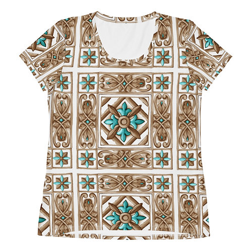 LD Taormina  Women's Athletic T-shirt