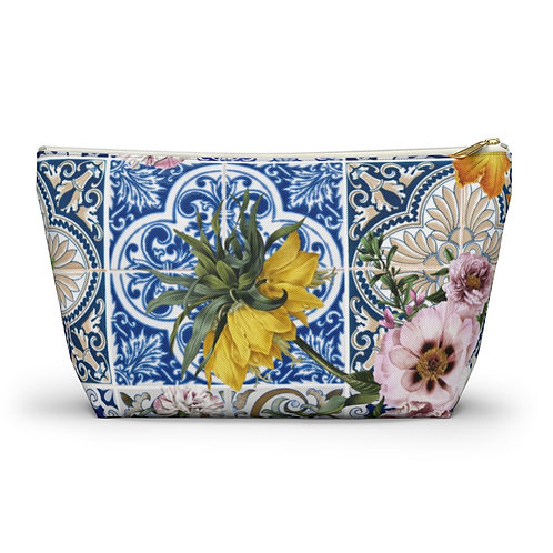 LD Classic Print Accessory Pouch w T-bottom