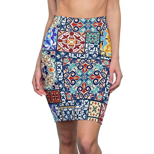 Vienna Women's Pencil Skirt