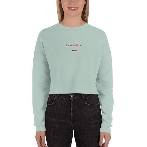 LD La Bella Vita Crop Sweatshirt