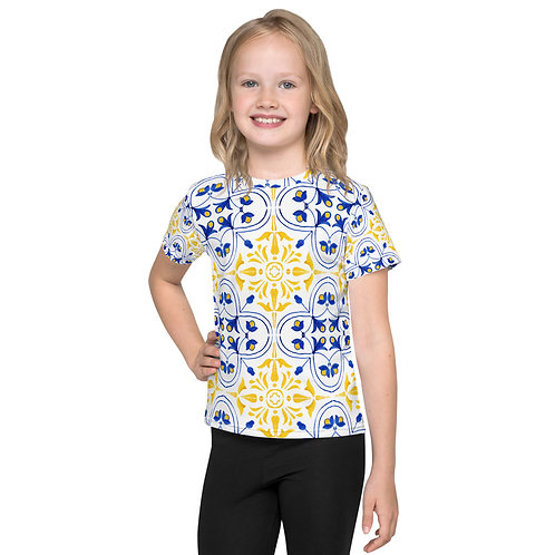 LD Blue Collection Kids crew neck t-shirt
