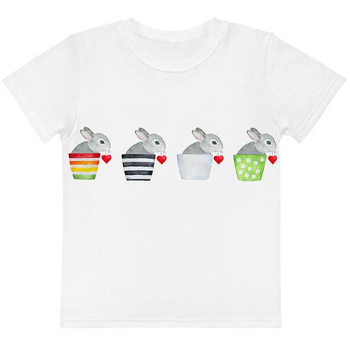 LD Pasqua Kids crew neck t-shirt