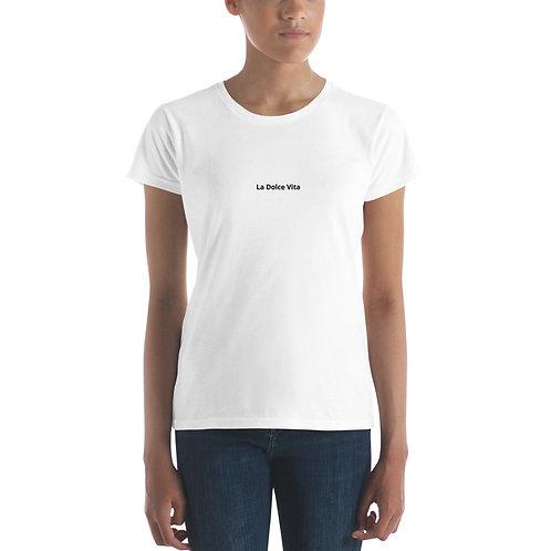 LD La Dolce Vita Women's short sleeve t-shirt