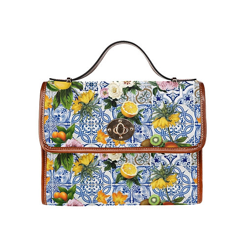 LD Clutch Canvas Bag