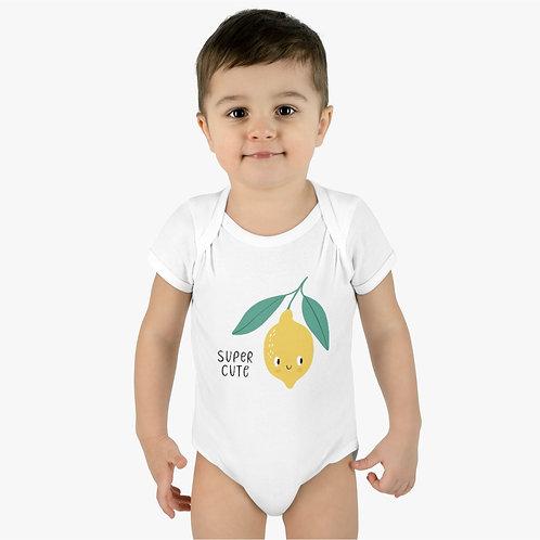 LD Infant Baby Rib Bodysuit