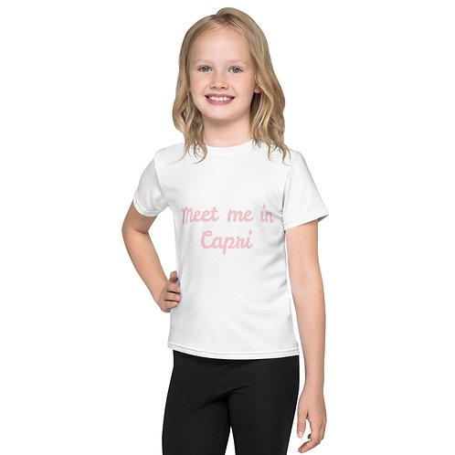 LD Capri Kids crew neck t-shirt