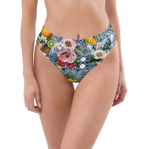 LD Sicilia Recycled high-waisted bikini bottom