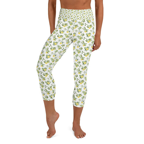 LD Limoncello Capri Leggings
