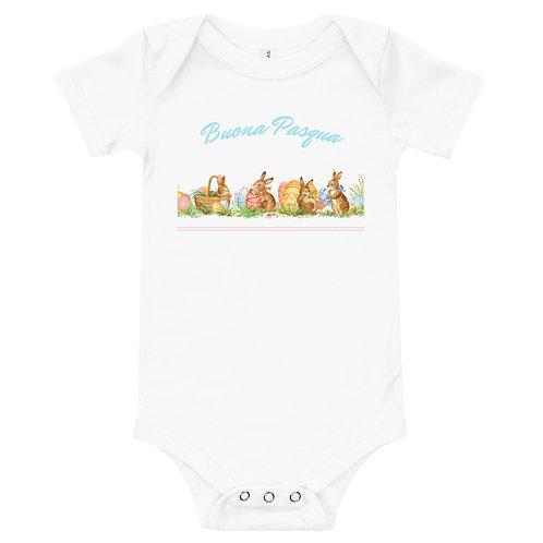 LD Pasqua Baby short sleeve one piece