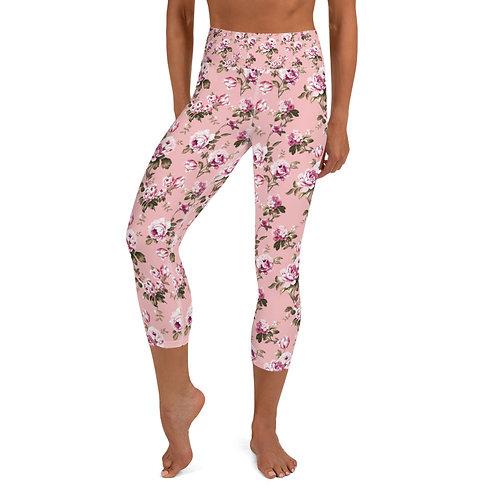 LD L'AMORE Adult Yoga Capri Leggings