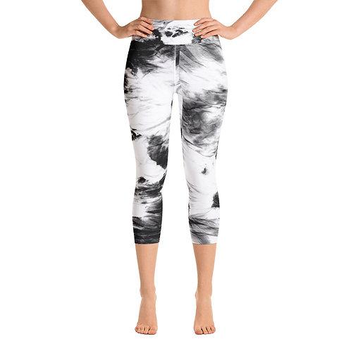 LD Gemma Black Yoga Capri Leggings
