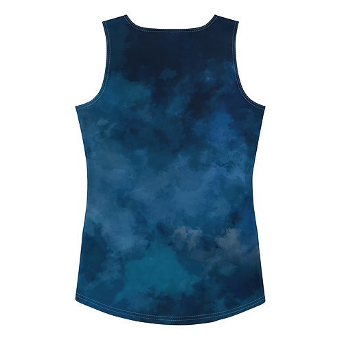 LD Gemma Women's Sublimation Cut & Sew Tank Top